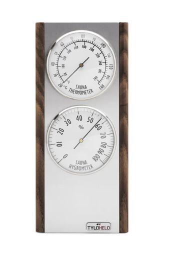 Thermo- und Hygrometer Premium Dark