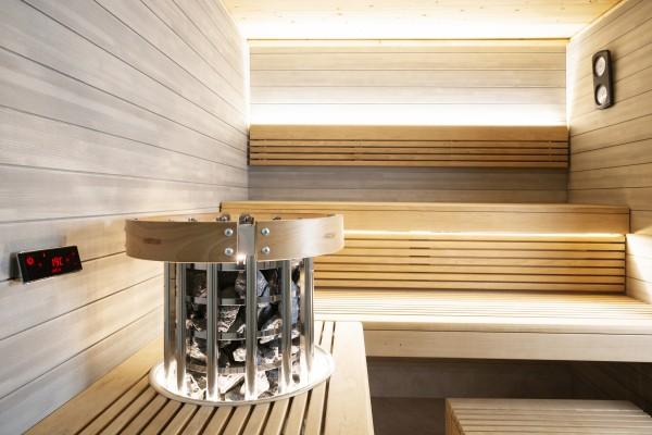 Saunaofen Harvia Glow mit digitalem Bedienfeld
