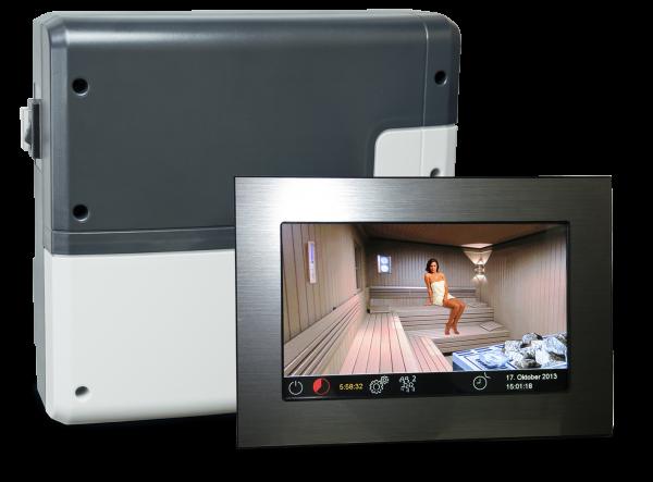 EmoTouch II+ Sauna (Touchscreen-Saunasteuergerät, Bi-O)