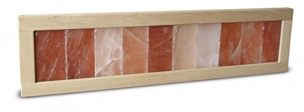 Wandpanel aus Salzsteinen