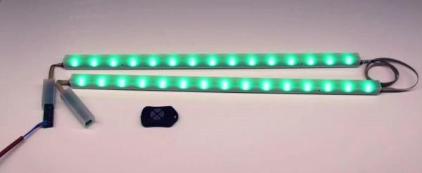 LED Rücklehnenbeleuchtung für Sauna - LineLight EQS EMOTION 2