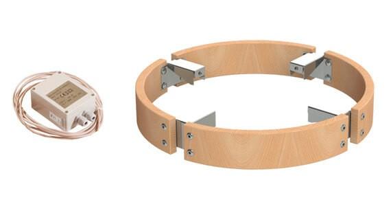 Schutzgeländer mit Beleuchtung passend für Ofenmodell Cilindro (6,8 und 9,0 kW)