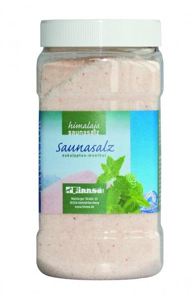 """Saunasalz """"Eukalyptus-Menthol"""""""" - 1000 g-Dose"""