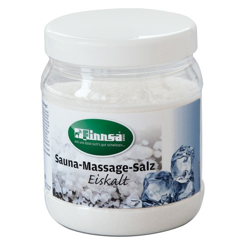 "Sauna Massage Salz ""Eiskalt"" - 1000 g-Dose"